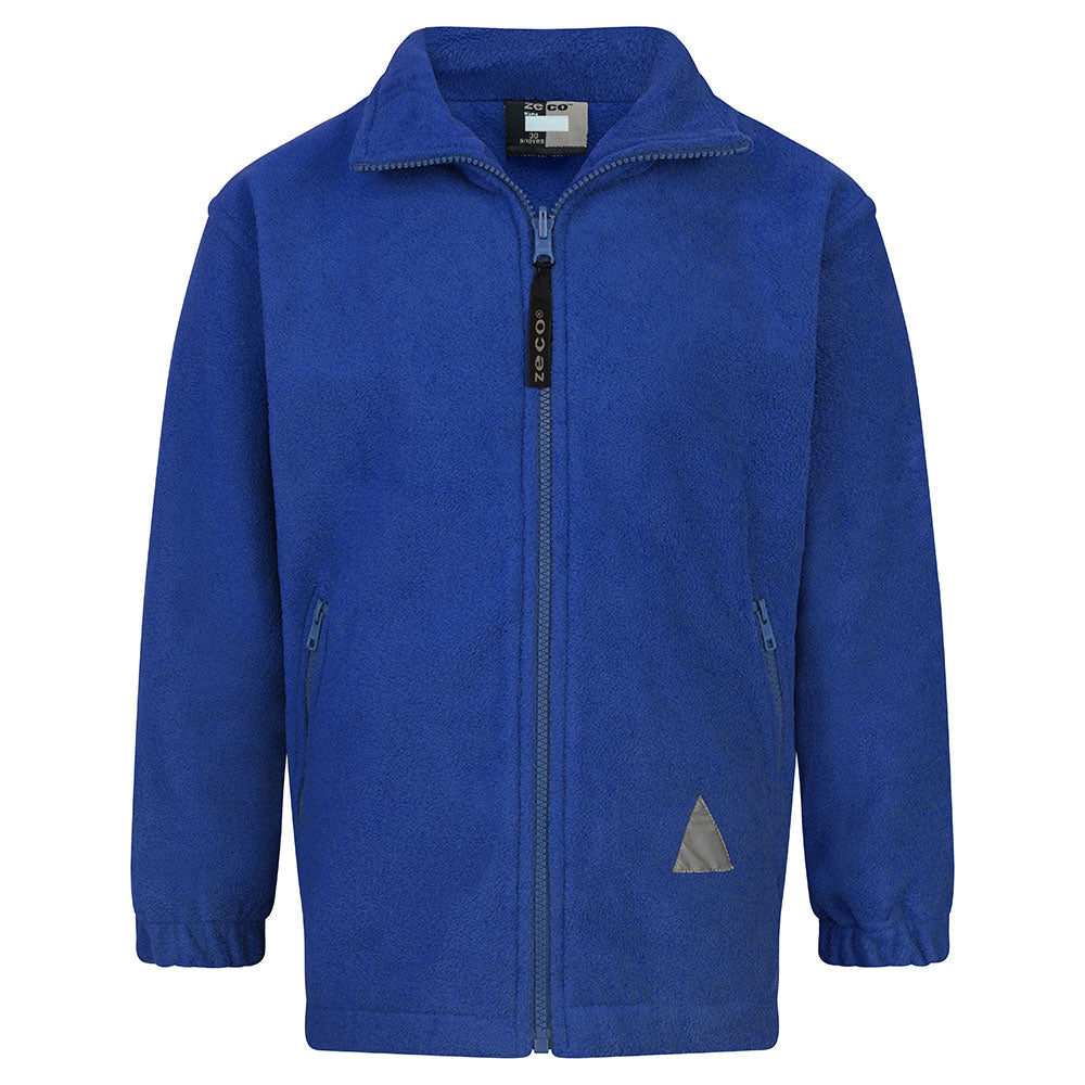 Royal Blue Polar Fleece Jacket