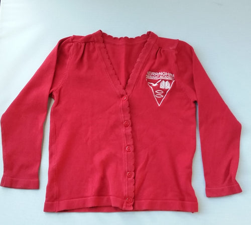Pre-Loved Herringham Primary Academy Cardigan