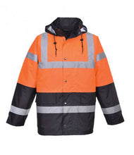 Load image into Gallery viewer, Portwest Hi-Vis Contrast Traffic Jacket