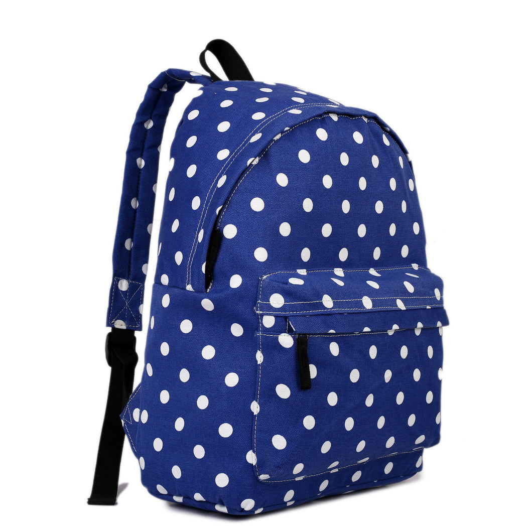 Polka Dot Retro Backpack