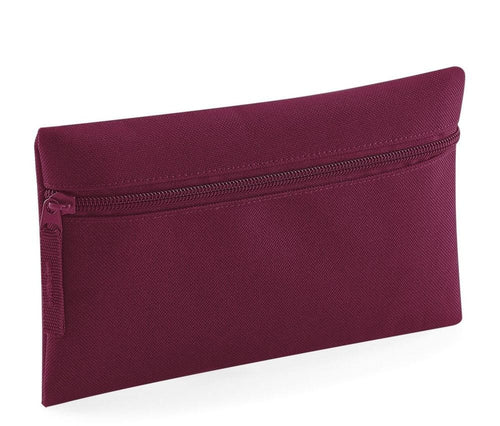 Burgundy Quadra Pencil Case