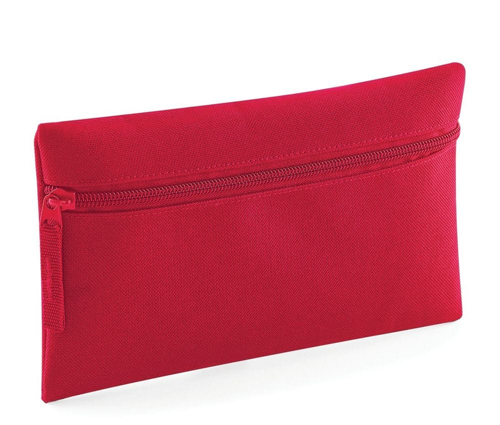 Red Quadra Pencil Case