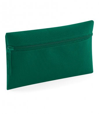 Bottle Green Quadra Pencil Case