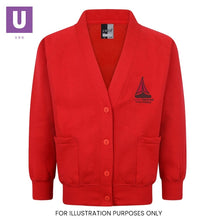 Load image into Gallery viewer, Thameside Primary Sweatshirt Cardigan with logo