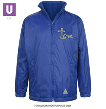 Load image into Gallery viewer, Orsett Primary Reversible Fleece Jacket with logo