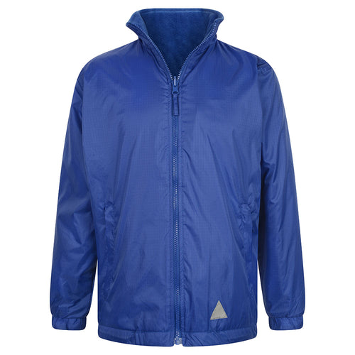 Royal Blue Reversible Fleece Jacket
