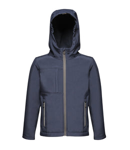 Regatta Kids Octagon Hooded Soft Shell Jacket