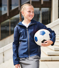 Load image into Gallery viewer, Regatta Kids Octagon Hooded Soft Shell Jacket