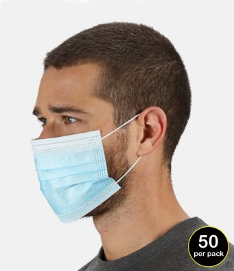 Regatta Type IIR 3-Ply Disposable Medical Mask (50pk)