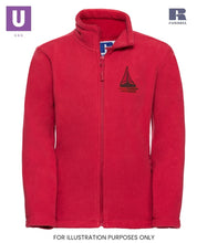 Load image into Gallery viewer, Thameside Primary Polar Fleece Jacket with logo