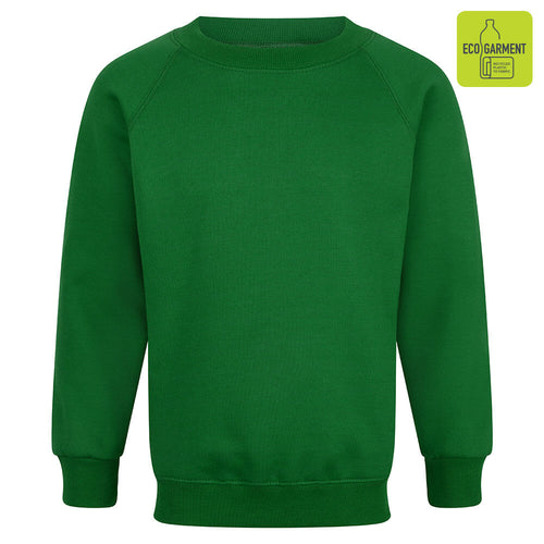 Forest Green Unisex Crew Neck Sweatshirt