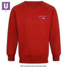 Load image into Gallery viewer, Herringham Primary Crew Neck Sweatshirt with logo