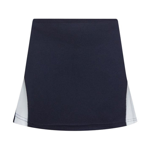 Navy/White Technical Mesh Skort
