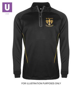 St Cleres P.E. Tracksuit Top with logo