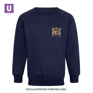 Stifford Clays Primary Crew Neck Sweatshirt with logo