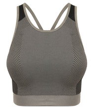 Load image into Gallery viewer, Tombo Ladies Seamless Panelled Crop Top