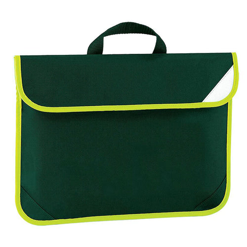 Bottle Green Enhanced Viz Book Bag
