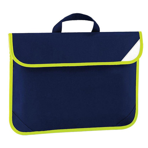 Navy Enhanced Viz Book Bag