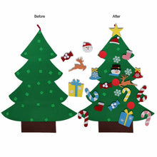 Load image into Gallery viewer, Felt Christmas Tree With Ornaments
