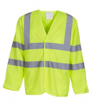 Load image into Gallery viewer, Yoko Hi-Vis Long Sleeve Jacket