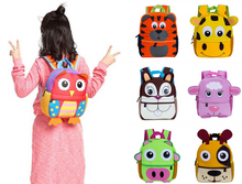 Load image into Gallery viewer, Children's Animal Character Backpack