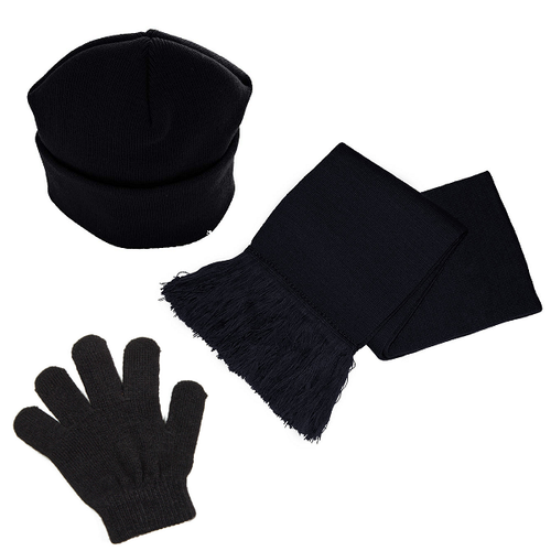 Knitted Hat, Scarf and Gloves Set (3 Colours Available)