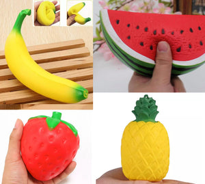 Squishy Scented Fruit Stress Relief Toys