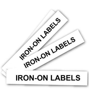 Personalised Iron On Name Labels