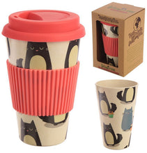 Load image into Gallery viewer, Bamboo Eco-Friendly Travel Cup