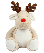 Load image into Gallery viewer, Mumbles Large Light Brown Zippie Reindeer Plush Toy