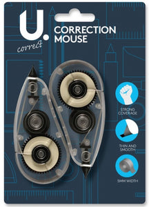 U.Study Correction Mouse (Twin Pack)