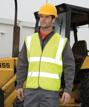 Load image into Gallery viewer, Fluorescent Yellow Safety Vest