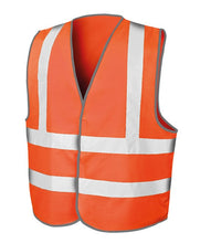Load image into Gallery viewer, Fluorescent Orange Safety Vest