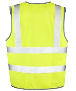 Fluorescent Yellow Safety Vest