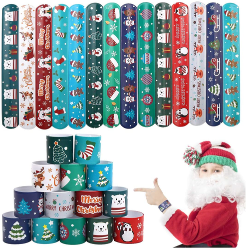 Christmas Magic Slap Bands