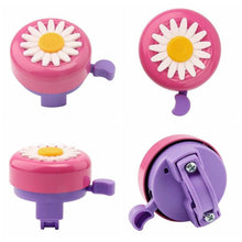 Load image into Gallery viewer, Children's Flower Bike Bell