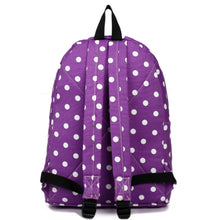 Load image into Gallery viewer, Polka Dot Retro Backpack