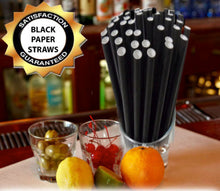 Load image into Gallery viewer, Eco-Friendly Plain Paper Straws