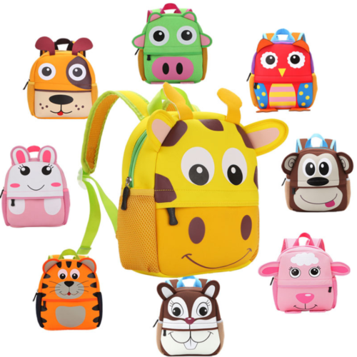 Children's Animal Character Backpack