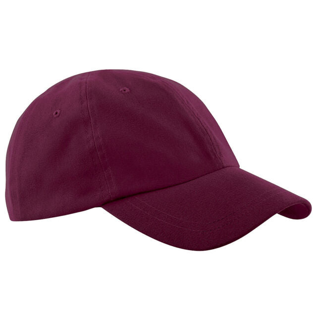 Burgundy Junior Baseball Cap