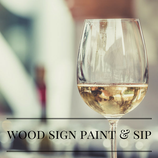 D&D Smith Winery Wood Sign Paint & Sip-Sunday, September 22nd @ 2pm