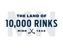 Load image into Gallery viewer, MN Land of 10,000 Rinks Short Sleeve