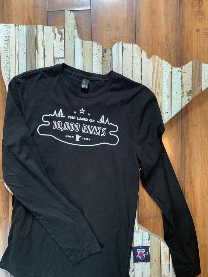 Land of 10,000 Rinks Long Sleeve
