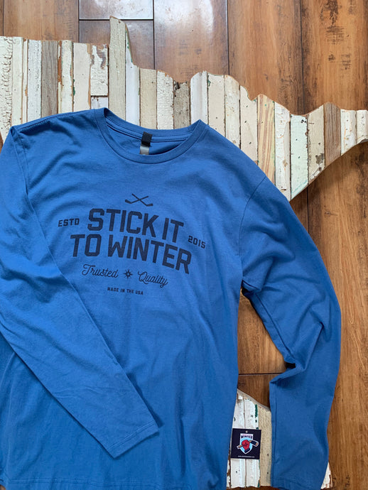 Stick It To Winter Unisex Long Sleeve Tee
