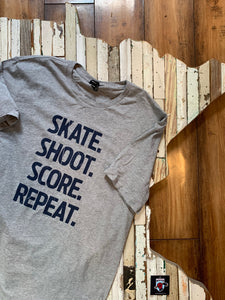 Skate Shoot Score Short Sleeve