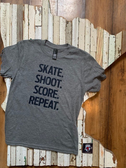 Youth Skate Shoot Score Short Sleeve