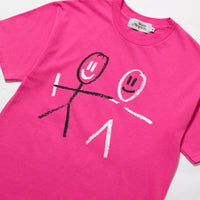Got Your Back Tee Pink
