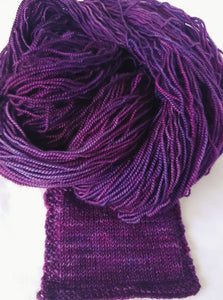 Merino 4ply high twist - Bearded iris
