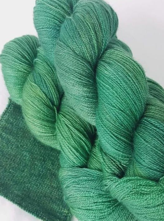 BFL/Silk Lace - Greenspace