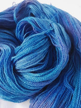 Load image into Gallery viewer, BFL/Silk Lace - Wild blue yonder